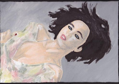 Emma Glover Painting 32 by jamesbaker1987