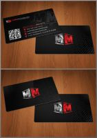 Media Marketers business cards by Stephen-Coelho