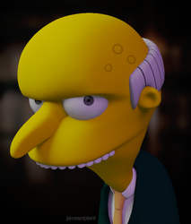 Mr. Burns by Pixelgeezer
