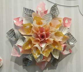 Paper Flower Image Stock by mshellee
