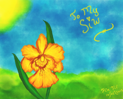 Valentine's Day 2013 - Sunny Orchid for Siiw by FiXato