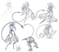 Emesis sketch dump 52014 by Wolf-Shadow77