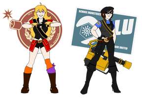 Team Fortress RW-BY:  Heavy class by Soundwave3591