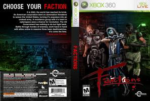 Factions Video Game Concept by HilendDesign