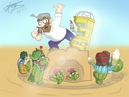 The Crazy Cactus Race by Nyanbonecrush