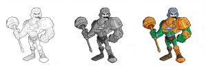 Man At Arms Finished by tyrannus