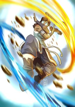 Legend of Korra by Fpeniche