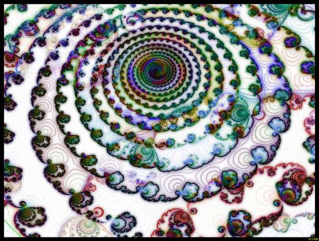 Marbalized Fractals by Melen