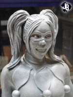 Harley Quinn Sculpture by JBerlyart