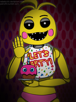 -FNaF2- 'Toy Chica' by Rebeka-KH