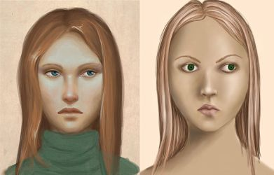 Redone portrait comparison by Ciuva