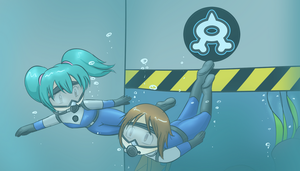 Pokemon: Infiltrating Team Aqua by Dr-Scaphandre