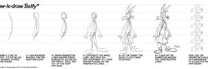 How-to-Draw Batty - part 1 by eltonpot