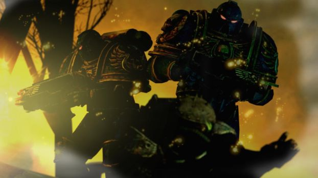 The ones Heretics learn to fear :Warkammer 40k: by guywiththesuitcase