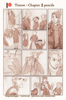 Tistow chapter 2 - pencils by ElliPuukangas