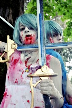 Sayaka's demons. by JudaiCosplay