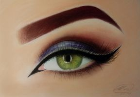 Pretty Eye by BlueGalaxyGirl