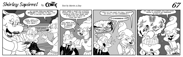 Shirley Squirrel - strip 67 - ENG by Contix