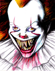 Pennywise by EROS-ARISTOTELES-ART