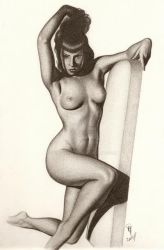 Pin Up by wolfwoman