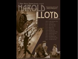 harold lloyd poster by mandy45503