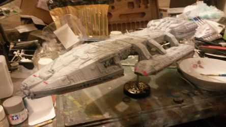 TOS Battlestar Galactica 2 by THE-WHITE-TIGER