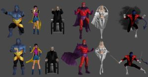 X-Men Pose Pack 2 by WildGold