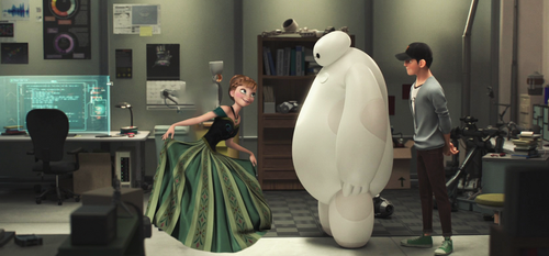 Nice to meet you Baymax by alice-in-wonderland2