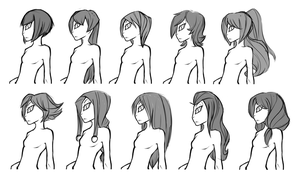 Vinny's Original Hair Ideas by Stickaroo