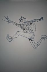 Spider Punk by coolmonkeyd