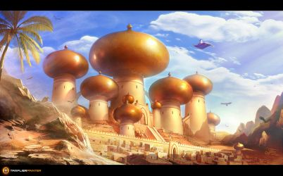 Agrabah by TamplierPainter