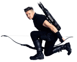 Infinity War Hawkeye 1 - PNG by Captain-Kingsman16