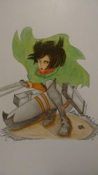 attack on Titan mikasa by New-Clouds
