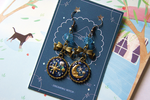 Magical Stars Earrings by Dreaming-Witch