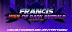 Francis Rise Of Dark Emerald Logo (Final Version) by NSMBXomega