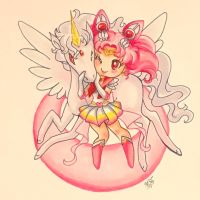 Sailor Chibi Moon Super S by LaPetitLapearl
