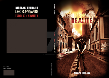 Book Cover reality by CharlineBis