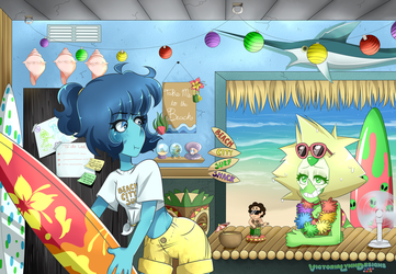 COMM: Beachside Lapidot by VictoriaLynnDesigns