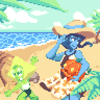 Beach Times by cloudcoole