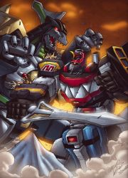 We need Megazord Power NOW!! by ColorDojo