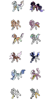 Cheap mlp adopts! part 4- open by Tigerblade14