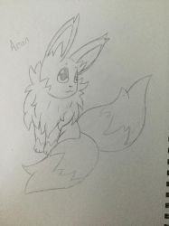Rough Sketch of a Fakemon by AntiLucky