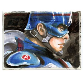 Captain America on a 228 by danomano65