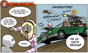Gamergate life 43 by KukuruyoArt