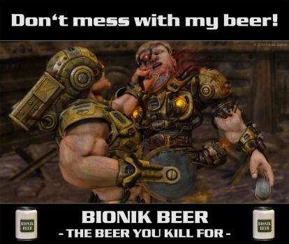 Dont mess with my beer by hauke3000
