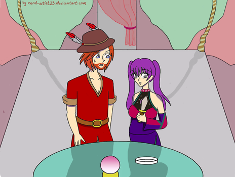 Art Trade with Alicia-x-Itachi: Blood For Fortune by Nerd-Artist23