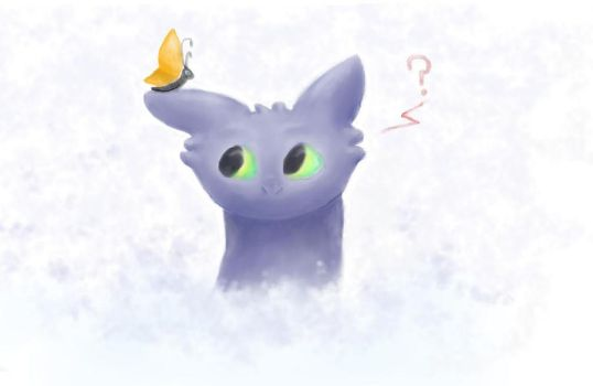 Toothless-2 by Anastasia209