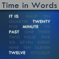 Time in Words -old version- by manci5