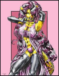 Honey comic style ink+color by Blattaphile