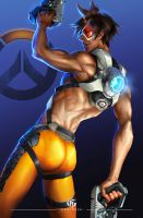 TRACER MALE - OVERWATCH by GEISTROCK